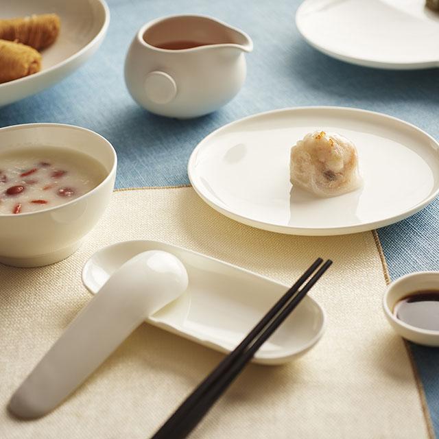 哲品zens 福碗餐具套装 由日本设计大师黑川雅之设计的实用餐具套装图片